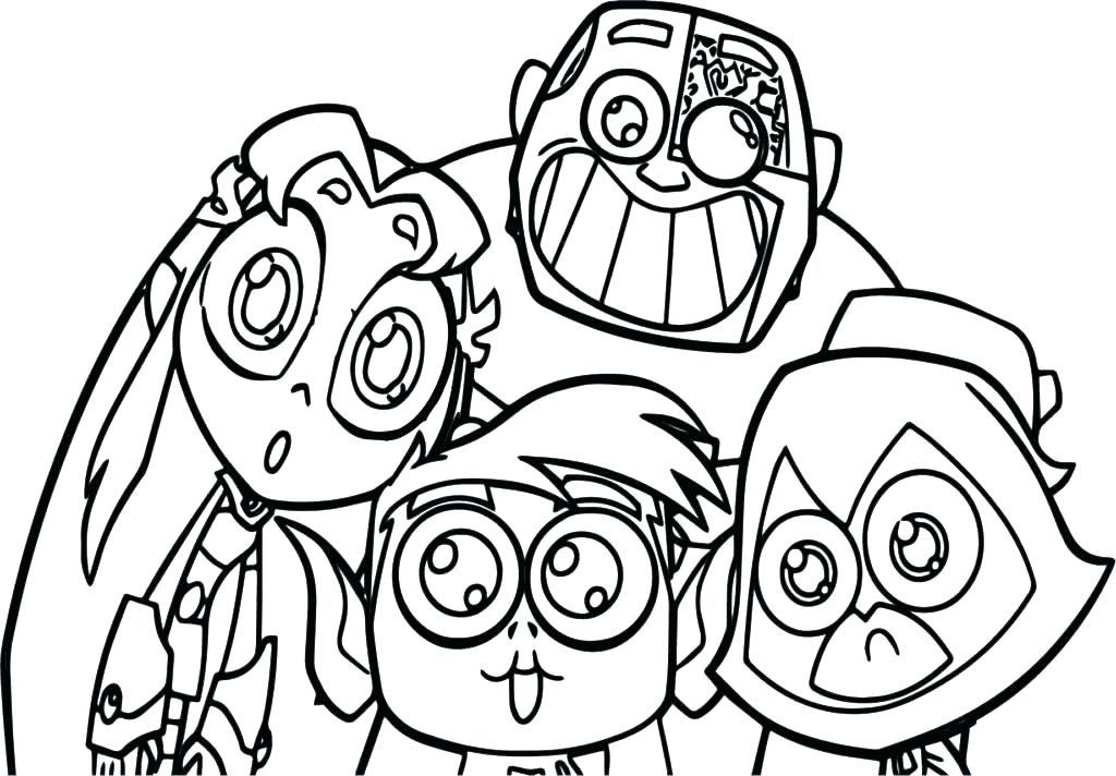 1024x712 Teen Color Pages Teen Titans Coloring Pages Teen Titans Coloring