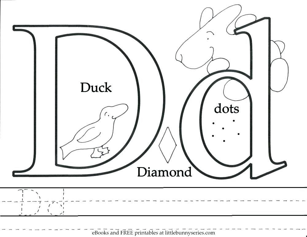 1000x773 D Coloring Pages Letter F Coloring Pages Letter F Coloring Pages D