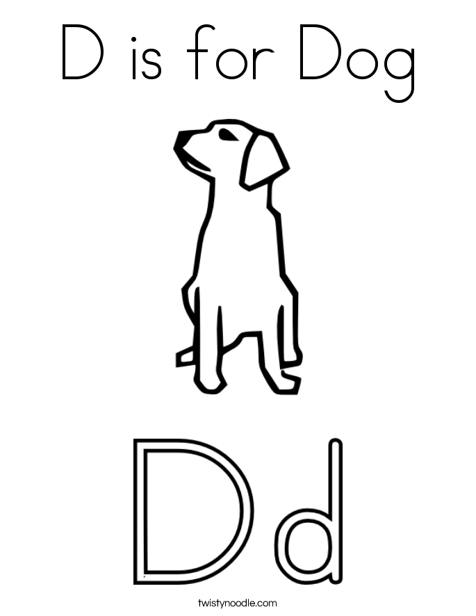 685x886 Letter D Coloring Pages