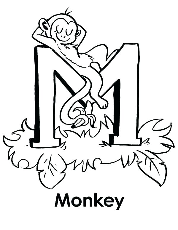 600x776 Coloring Pages Letter D