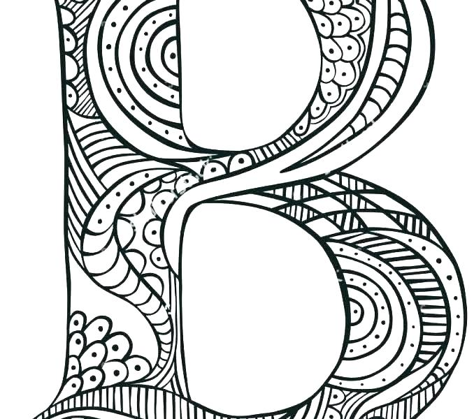 678x600 B Coloring Page Coloring Pages Letter B B Coloring Pages Coloring