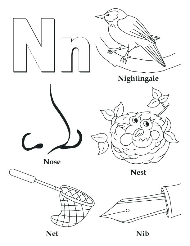 612x792 Letter Coloring Coloring Pages Letter S My A To Z Coloring Book