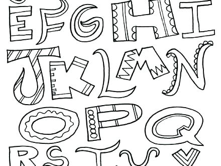 440x330 Letter S Coloring Sheets Alphabet Coloring Pages Free To Print