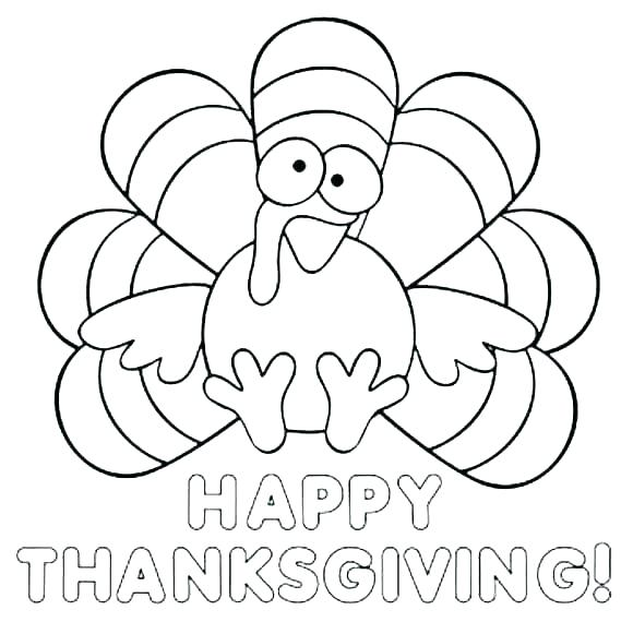 580x581 Picture Of A Colored Turkey Drawing At Free For Thanksgiving Color