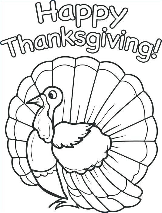 534x700 Turkey Coloring Pages For Preschoolers Free Thanksgiving Coloring
