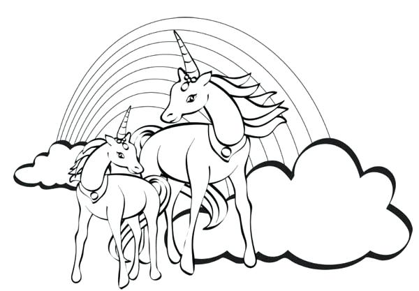 600x417 Free Unicorn Coloring Pages Coloring Pages Of Unicorns Unicorn