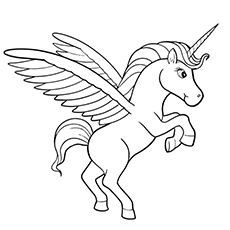 230x230 Top Free Printable Unicorn Coloring Pages Online