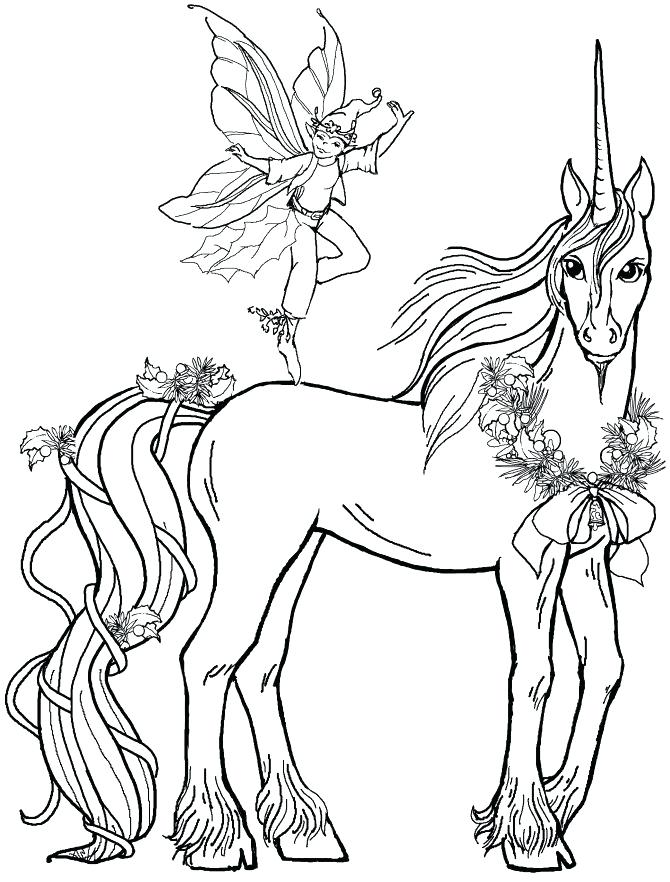 670x882 Coloring Pages Unicorns