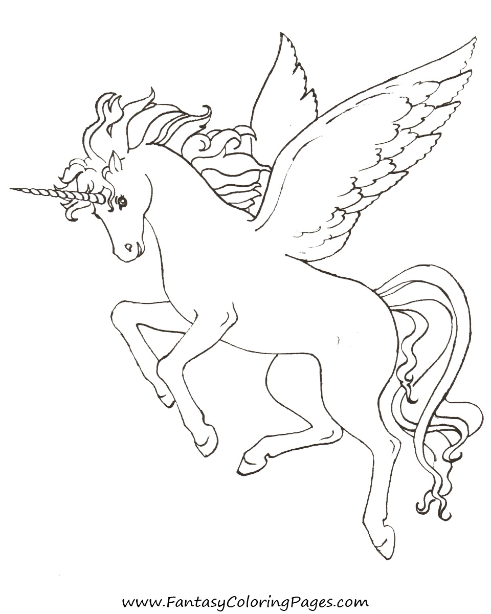 960x1200 Free Coloring Pages Pegasus And Unicorns Christmas Coloring