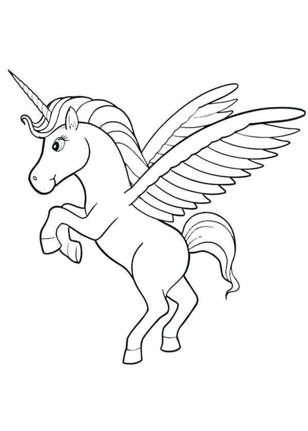 600x840 Coloring Pages Unicorn And Unicorn Combined Coloring Page Pages
