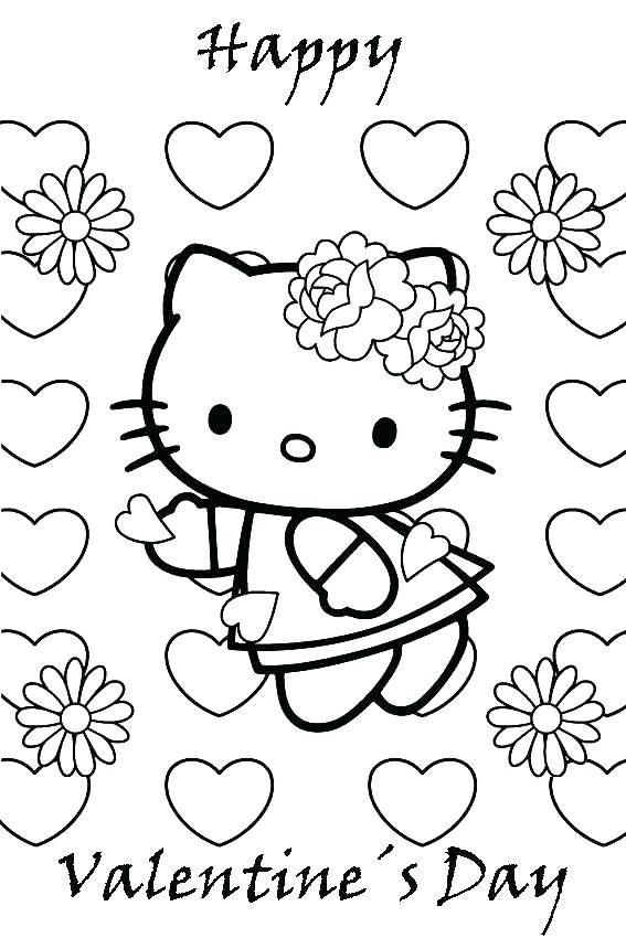 567x850 Insider Printable Valentines Color Pages Valentines Colouring