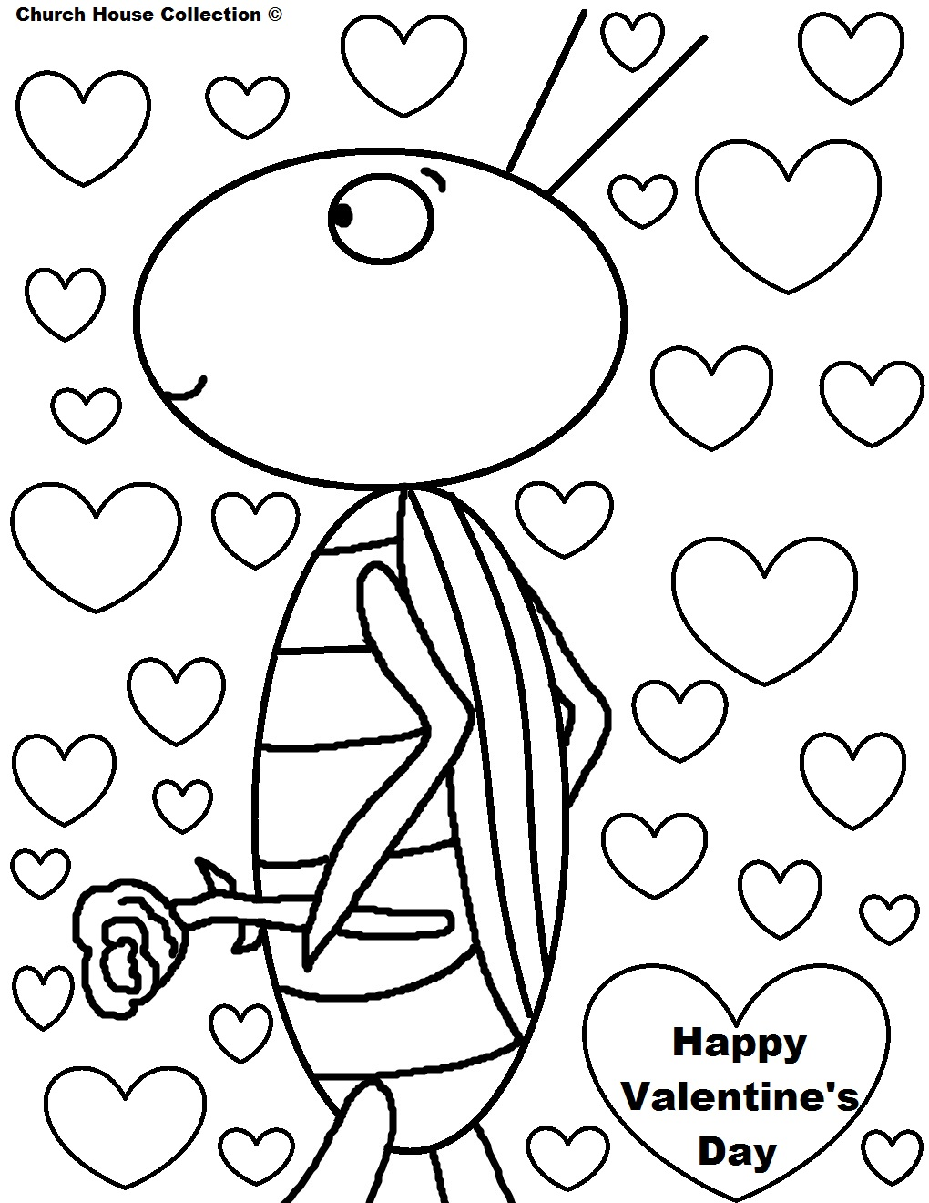 1020x1320 Valentines Day Coloring Pages