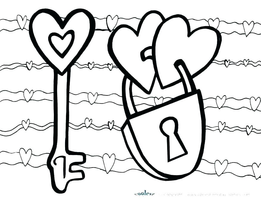 878x678 Free Valentine Printable Coloring Pages