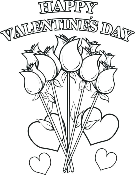 540x700 Printable Heart Coloring Pages