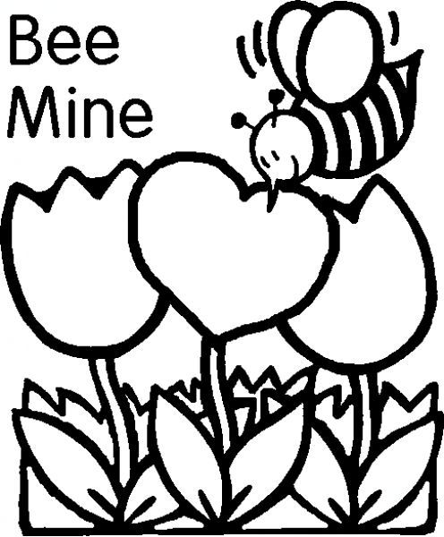 Coloring Pages Of Valentines Day at GetDrawings.com | Free ...