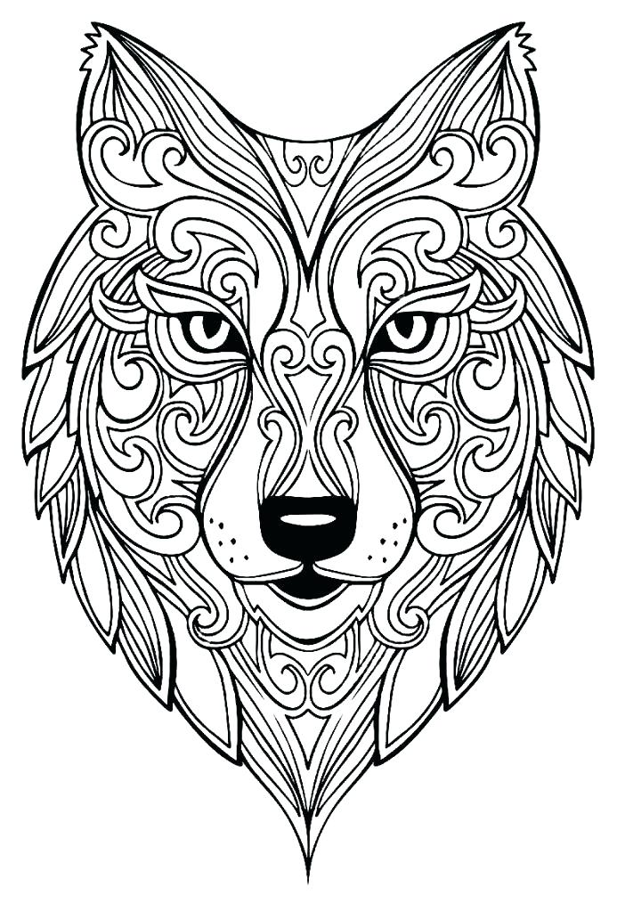 693x1024 Coloring Pages Wolves Coloring Page Wolf Coloring Pages Of Wolf