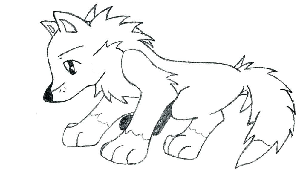 1024x589 Cute Wolf Coloring Pages Anime Wolf Coloring Pages Wolf Coloring