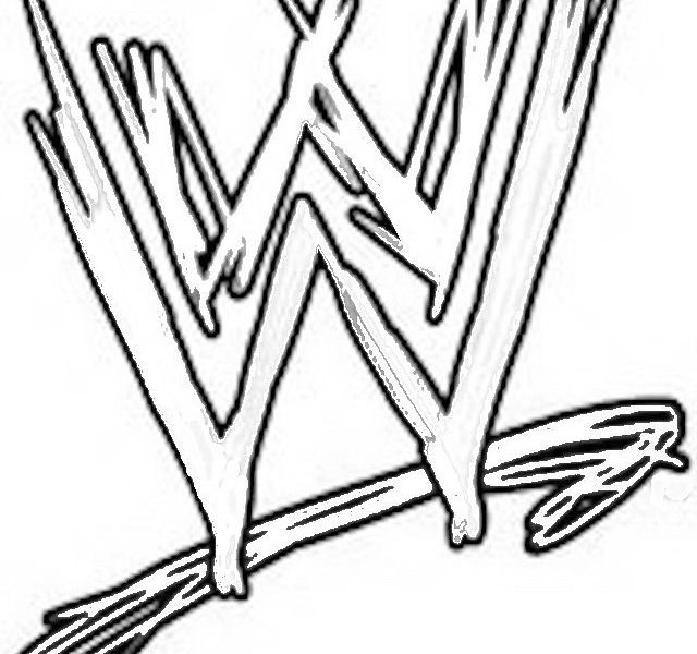 640x600 Free Wwe Coloring Pages Wwe Printable Coloring Pages Print