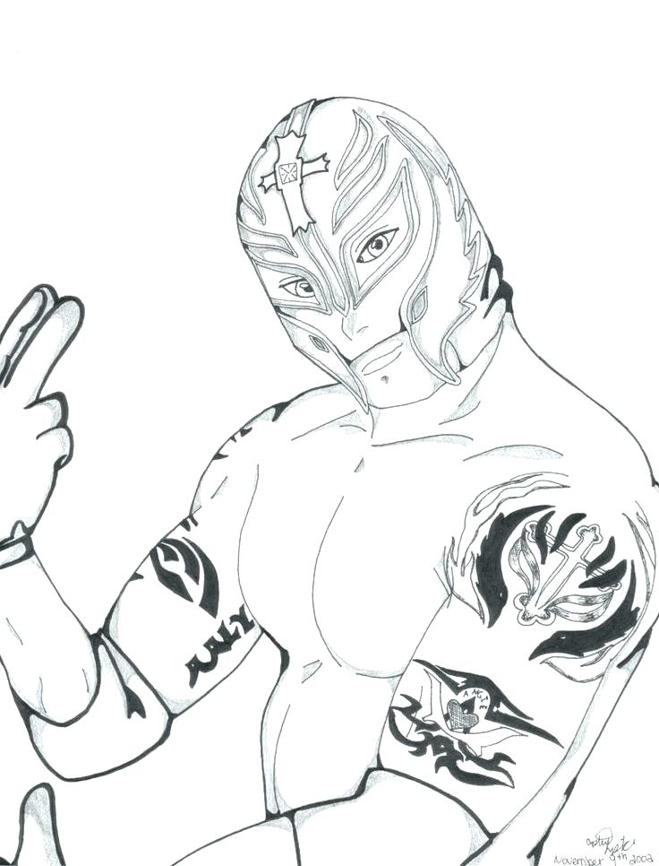 736x966 Printable Wwe Coloring Pages Coloring Book Also Free Printable