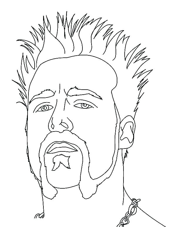 600x775 Printable Wwe Coloring Pages Coloring Sheets Coloring Pictures