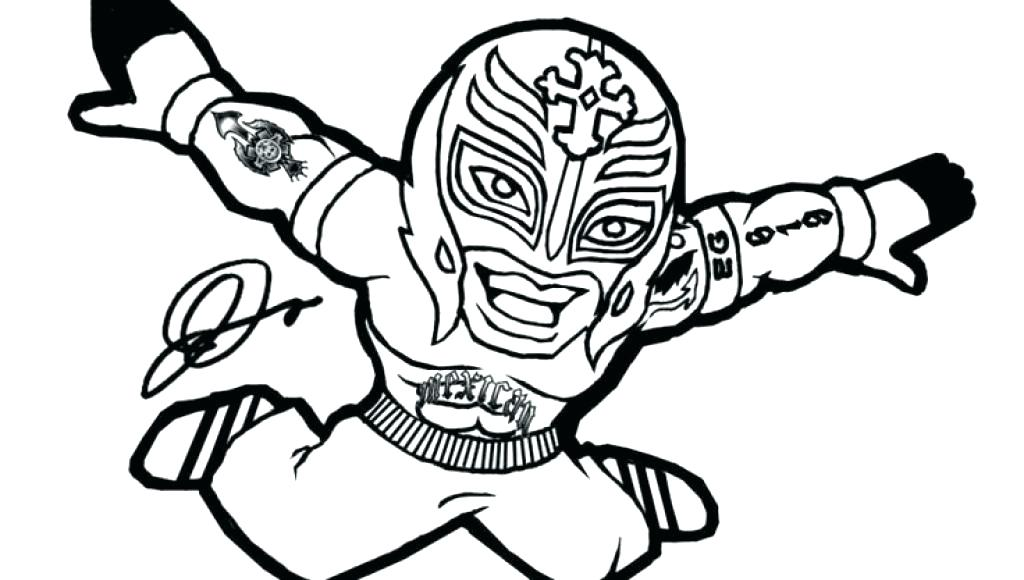 1024x580 With Championship Belt World Wrestling Coloring Pages Printable
