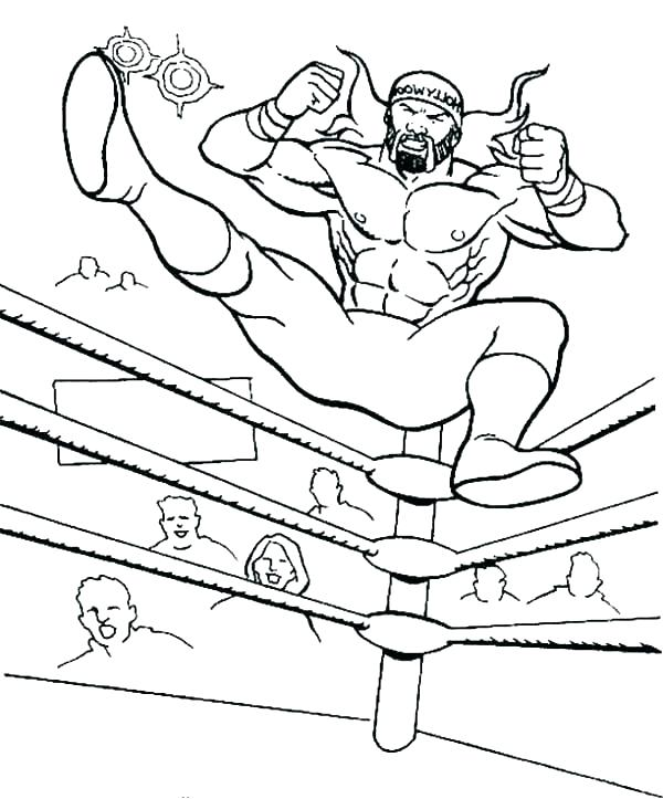 600x723 Wwe Coloring Page Colouring Page Wwe Coloring Pages To Print