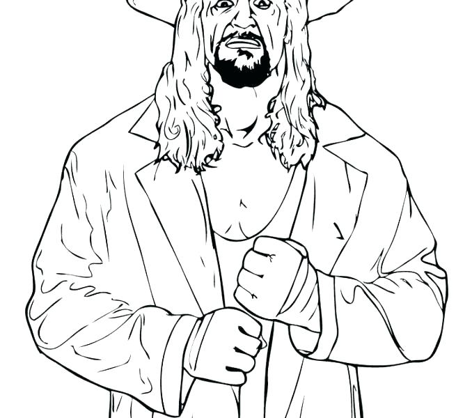 678x600 Wwe Coloring Pages Printable Coloring Coloring Pages Printable