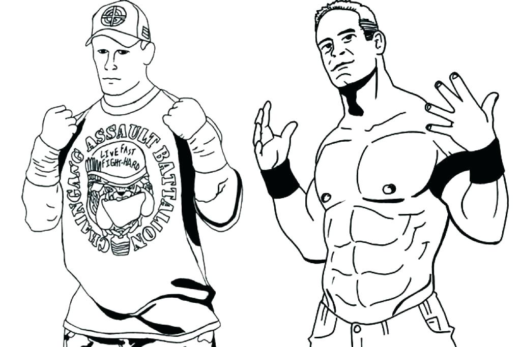 1024x683 Wwe Coloring Pages Printable Coloring Pages Coloring Pictures John