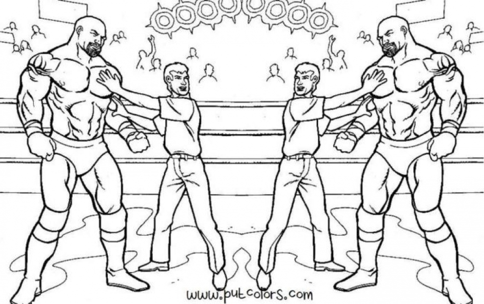960x603 Free Wwe Coloring Pages Free Printable Wwe Coloring Pages