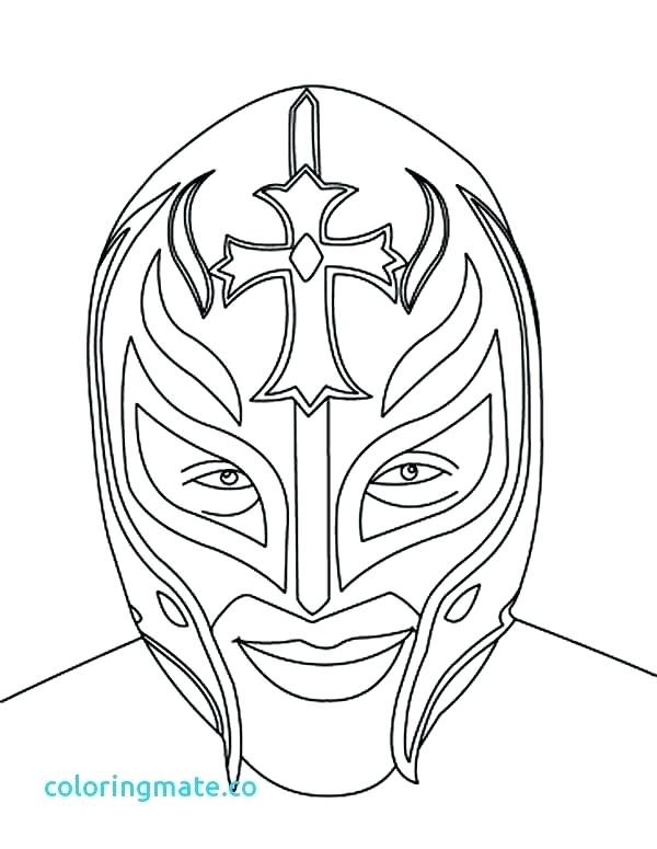 600x775 Wwe Coloring Pages