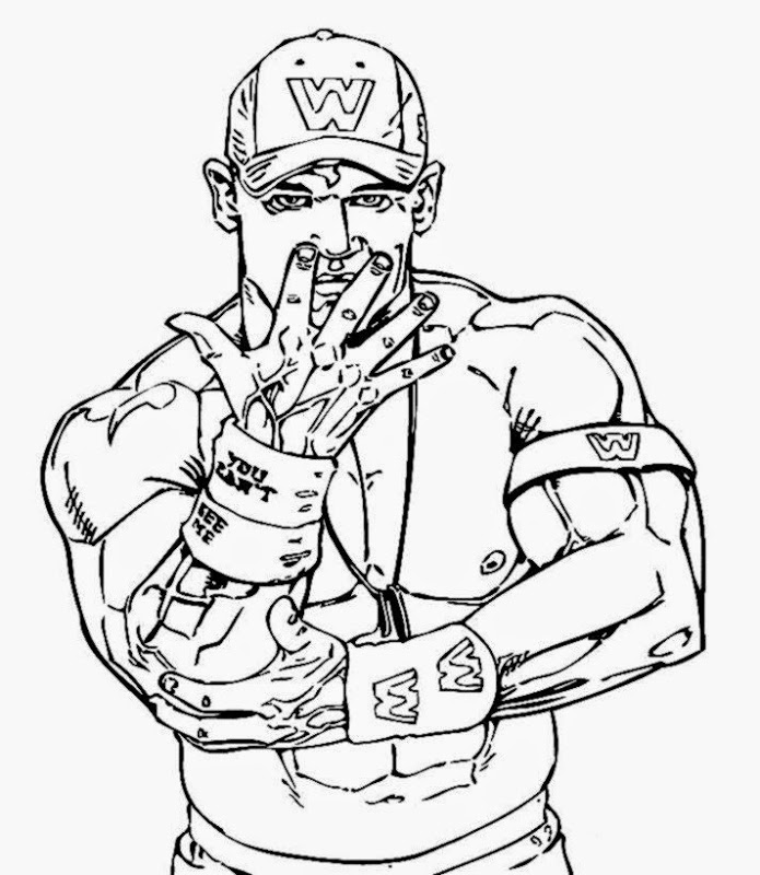 695x800 Wwe Superstars Coloring Pages Wrestling Coloring Pages Ideas