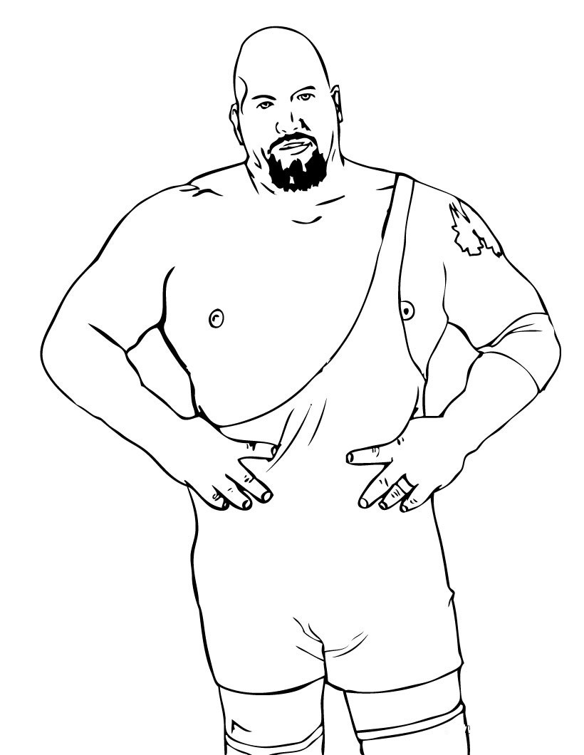820x1060 Coloring Pages Wwe Superstar Fresh Free Printable Wwe Coloring