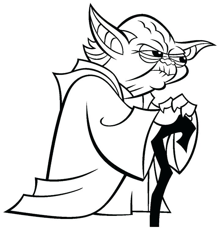 Coloring Pages Of Yoda at GetDrawings.com | Free for ...