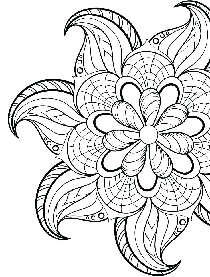 736x971 Online Mandala Coloring Pages Luxury Mandala Coloring Pages