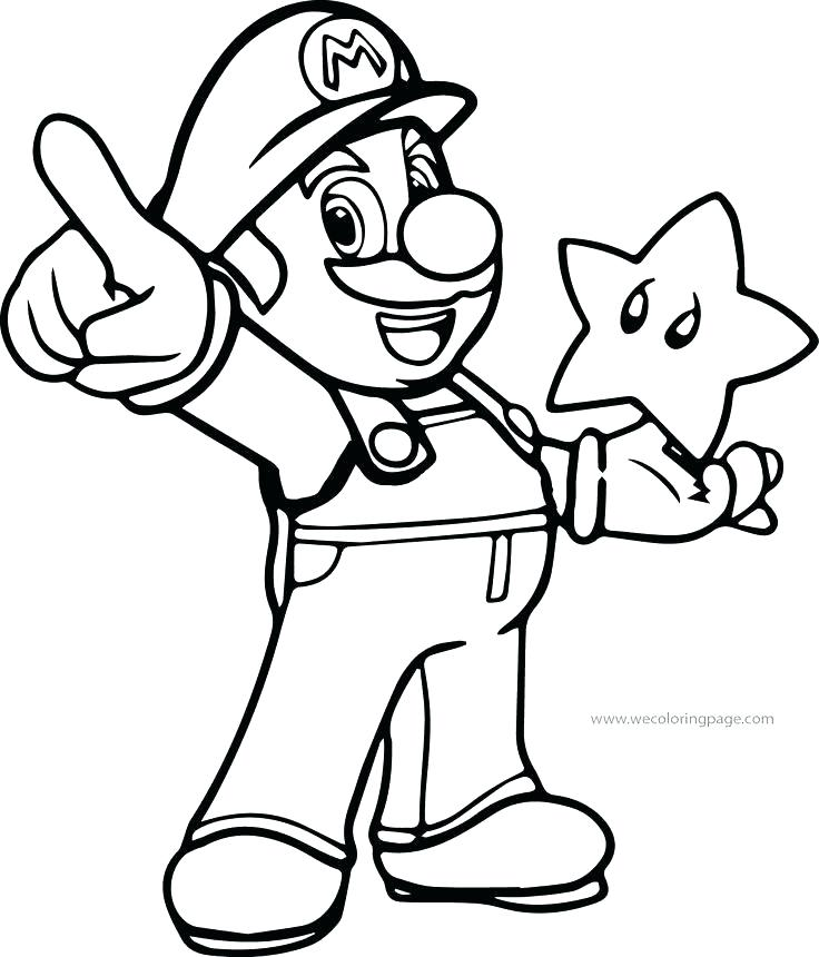 736x860 Super Mario Coloring Pages Online And Coloring Pages Online Me