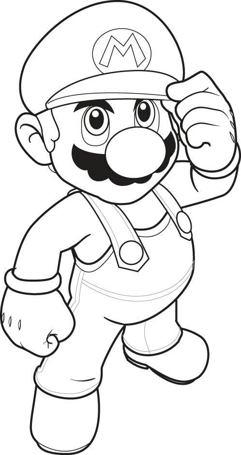 498x939 Top Free Printable Super Mario Coloring Pages Online Number