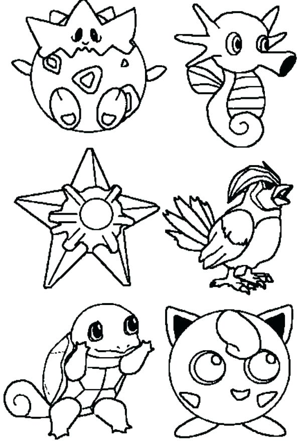 600x879 Pokemon Coloring Pages Online