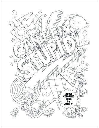 334x432 Free Printable Adult Coloring Pages Swear Word Adult Coloring