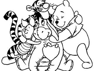 320x240 Holiday Coloring Pages Online Disney Printable Kids Free