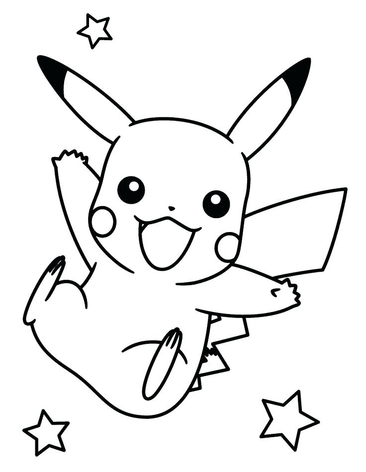 736x950 Pikachu Color Pages Printable Coloring Pages For Kids Free Disney