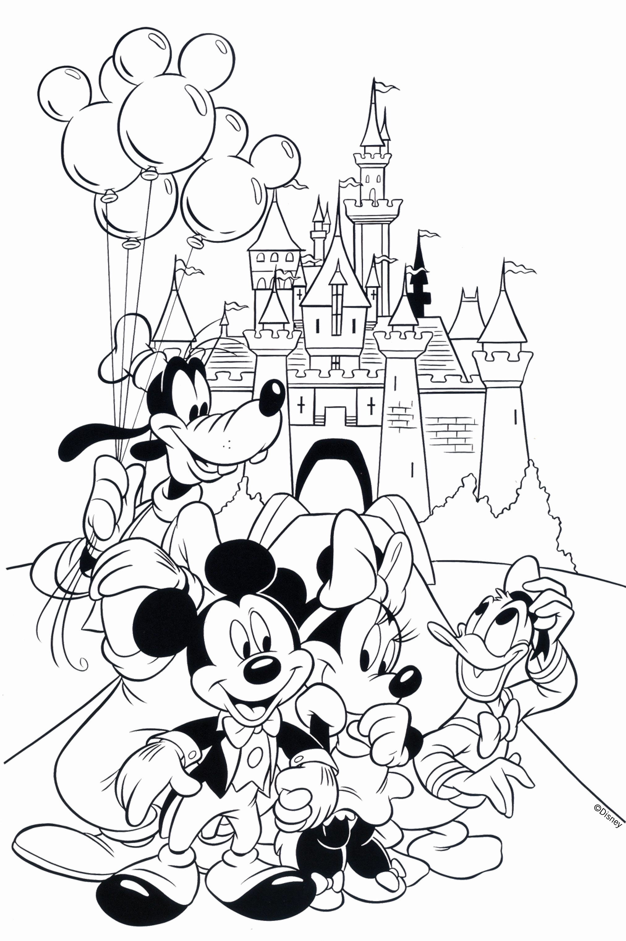 2025x3042 Coloring Pages Online Free Inspirational Free Disney Coloring