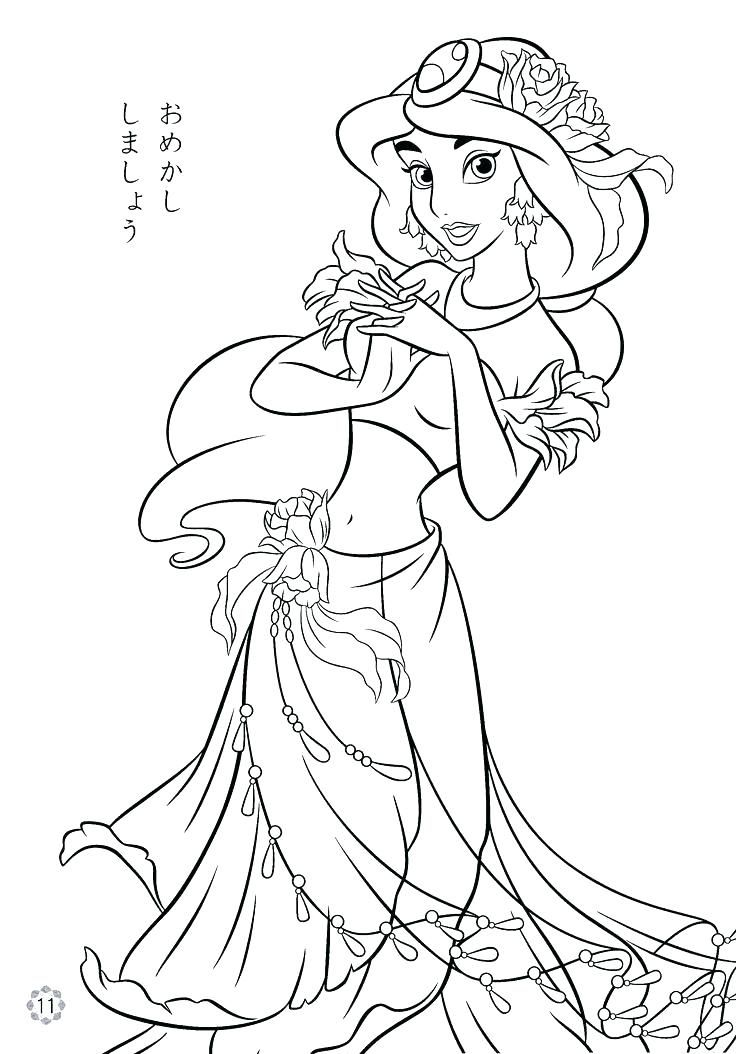736x1054 Disney Coloring Pages Online Coloring Book Online As Well As