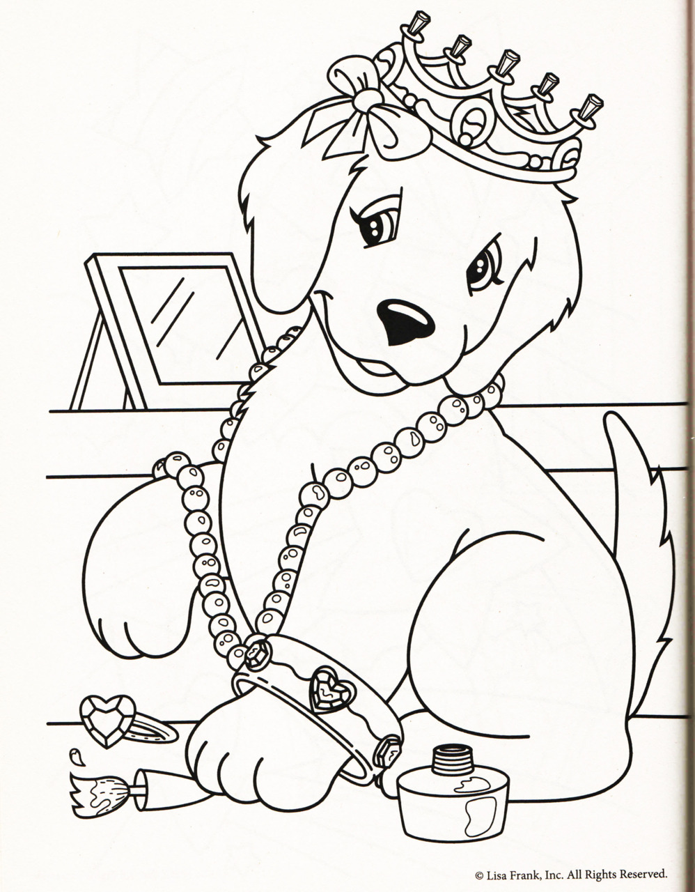 998x1280 Enormous Lisa Frank Coloring Pages Online To Download And Print
