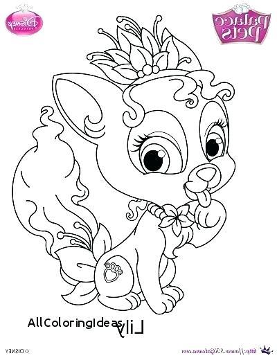 400x517 Palace Pets Coloring Pages Plus Princess Palace Pets Coloring Page