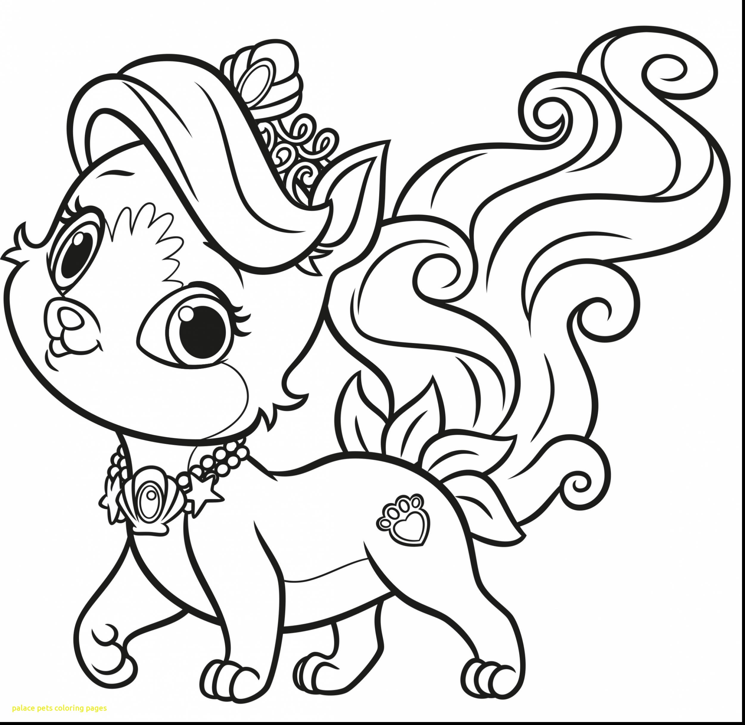 2501x2433 Palace Pets Coloring Pages With Coloring Pages Palace Pets