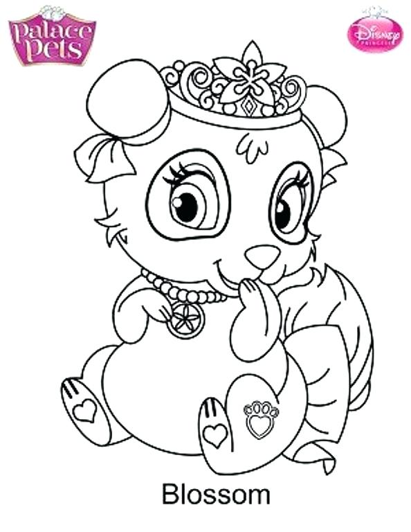 594x768 Pets Coloring Pages Palace Pets Coloring Pages Stock Kids N Fun