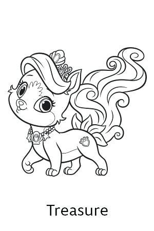 300x450 Princess Puppy Coloring Pages Pet Coloring Pages Princess Pets