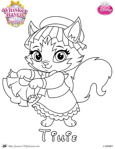 400x517 Whisker Haven Tales Coloring Page Of Tillie Skgaleana