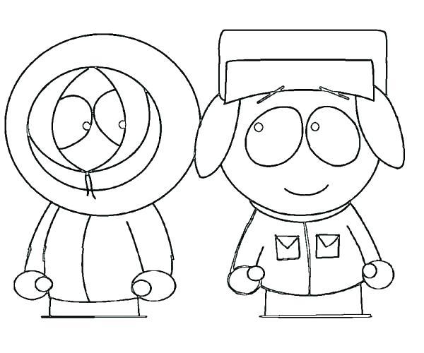 600x500 South Park Coloring Page South Park Coloring Pages South Park