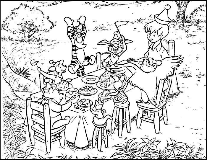 Coloring Pages Party